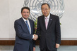 Secretary-General Meets Head of World Tourism Organization 2.8624349