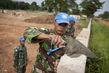 Indonesian Peacekeepers in Central African Republic 8.130498