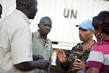 MINUSCA Peacekeepers Brief Truck Drivers Headed to Bambari, CAR 4.871684