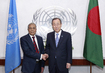 Secretary-General Meets President of Bangladesh 2.8644829