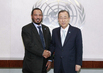 Secretary-General Meets UN Humanitarian Envoy for Kuwait 2.8614073