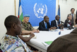 MINUSCA Head Introduces Deputy Head and Military Chief of Staff 4.871684