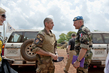MINUSCA and Sangaris Leaders Meet in Bangui 4.7747355