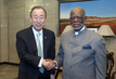 Secretary-General Meets Speaker of Namibian National Assembly 1.1082648