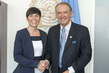 Deputy Secretary-General Meets Defence Minister of Norway 7.2181854