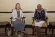 Secretary-General's Wife Meets First Lady of Kenya 5.3085985