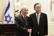 Secretary-General Meets Israeli President in New York 2.8614073