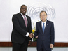 Secretary-General Meets Security Council President for July 2.8614073