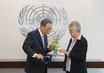 Secretary-General Meets Special Representative for Disaster Risk Reduction 2.4302144