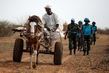 UNAMID Peacekeepers on Patrol near Khor Abeche, South Darfur 4.5926495