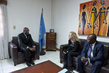 Head of MINUSCA Meets UNICEF Goodwill Ambassador 3.3983576