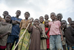 Children in Town of Kaga Bandora, Central African Republic