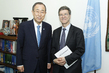 Secretary-General Meets UN Special Adviser on MDGs 2.8626494