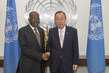 Secretary-General Meets Foreign Minister of Democratic Republic of Congo