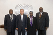 Secretary-General Meets Members of Central African Republic Commission 2.8616853