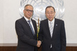 Secretary-General Meets Head of Commission on Narcotic Drugs 2.8637009