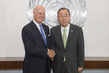 Secretary-General Meets New Special Envoy for Syria 2.8634667