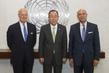 Secretary-General Meets New Syria Envoys 2.8637009