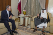 Secretary-General Meets Amir of Qatar 0.8273051