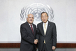 Secretary-General Meets with Palestinian Permanent Observer 2.8634667
