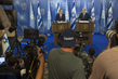 Secretary-General Briefs the Press with Israeli Prime Minister 0.9209686