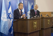 Secretary-General Briefs the Press with Israeli Prime Minister 0.9147055