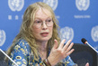 UNICEF Goodwill Ambassador Briefs Press on Central African Republic 3.2046812
