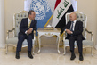 Secretary-General Meets Acting Foreign Minister of Iraq 3.7540615