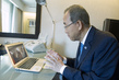 Secretary-General Addresses UNRWA Staff in Gaza via Skype 0.036782436