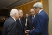 Secretary-General Meets US and Egyptian Foreign Ministers, Head of Arab League