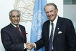 Deputy Secretary-General Meets Special Assistant to the Pakistani Prime Minister 7.2281933