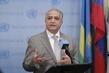 Representative of Iraq Speaks to Press 0.63719547