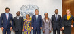 Secretary-General Meets Special Guest from Mozambique 2.864571