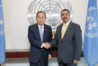 Secretary-General Meets New Permanent Representative of Yemen 2.8643336