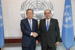 Secretary-General Meets New Permanent Representative of El Salvador 2.8643336