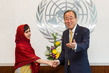 Secretary-General Meets with Malala 2.8632708