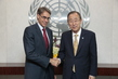 Secretary-General Meets Head of Human Rights Watch