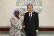Secretary-General Meets Head of Mano River Union