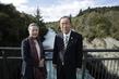 Secretary-General Visits Huka Falls, New Zealand 2.8643548