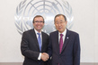 Secretary-General Meets His Special Adviser on Cyprus 1.0