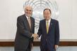 Secretary-General Meets Former Bolivian President 2.8653216