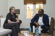 Head of UNMISS Meets UNESCO Goodwill Ambassador Forest Whitaker 4.5286837