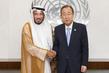 Secretary General Meets His Humanitarian Envoy 2.8647451