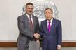 Secretary-General Meets Saudi Arabian Education Envoy 0.036707733