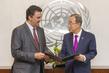Secretary-General Meets Saudi Arabian Education Envoy 2.8658962