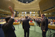 Secretary-General Visits Newly Renovated General Assembly Hall 2.8654008
