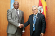 Assembly President Meets Permanent Representative of Malaysia