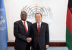 Secretary-General Meets President of Malawi