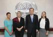 Secretary-General Meets Members of the Nobel Women's Initiative 0.39123452