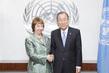Secretary-General Meets EU High Representative for Foreign Affairs 1.0